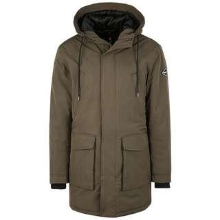 REPLAY mit aufgesetzten Taschen Winterjacke Herren grün