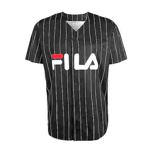 FILA Men DAWN baseball tee Kurzarmhemd Herren black