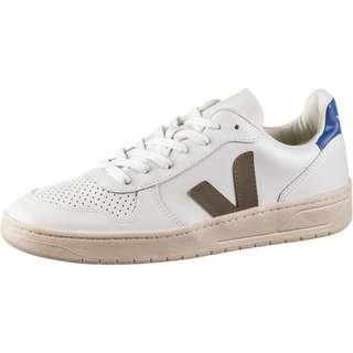 VEJA V10 Sneaker Herren extra white-kaki-indigo