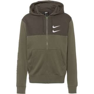 Nike NSW Swoosh Sweatjacke Herren twilight marsh-newsprint-white