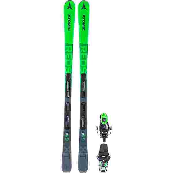 ATOMIC REDSTER XT + M 10 GW SET All-Mountain Ski green-grey