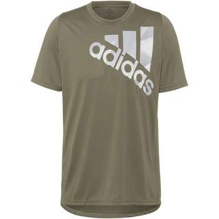 adidas TKY OLY Badge of Sports Funktionsshirt Herren legacy green