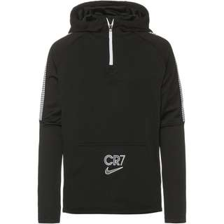 Nike CR7 Hoodie Kinder black-white-iridescent
