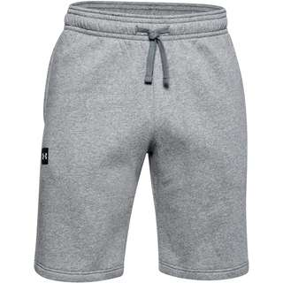 Under Armour Rival Funktionsshorts Herren pitch gray light heather-onyx white