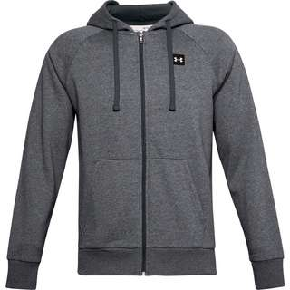 Under Armour Rival Kapuzenjacke Herren pitch gray light heather-onyx white