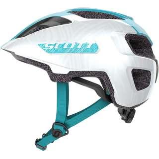 SCOTT Spunto Junior (CE) Fahrradhelm Kinder pearl white breeze blue