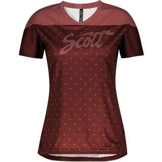 SCOTT Trail Flow s/sl Trikot Damen brick red-rust red