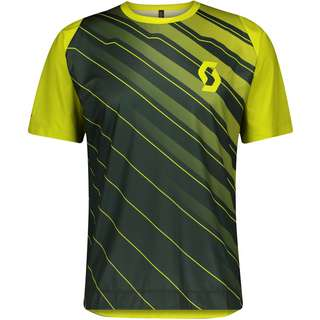 SCOTT Trail Vertic Trikot Herren smoked green-yellow