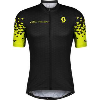 SCOTT RC Team 10 Trikot Herren black-sulphur yellow