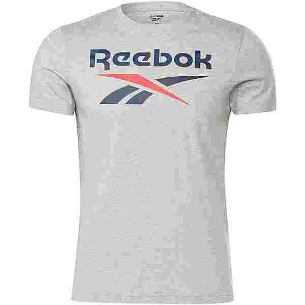 Reebok Identity Classic T-Shirt Herren medium grey heather