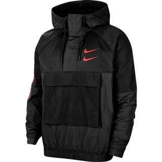 Nike Windrunner Swoosh Windbreaker Herren black-black-black-ember glow