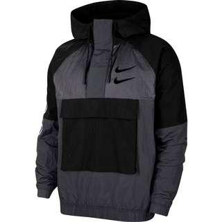 Nike Windrunner Swoosh Windbreaker Herren black-anthracite-dark grey-black