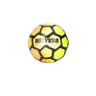 Derbystar Fußball orangegelbschwarz