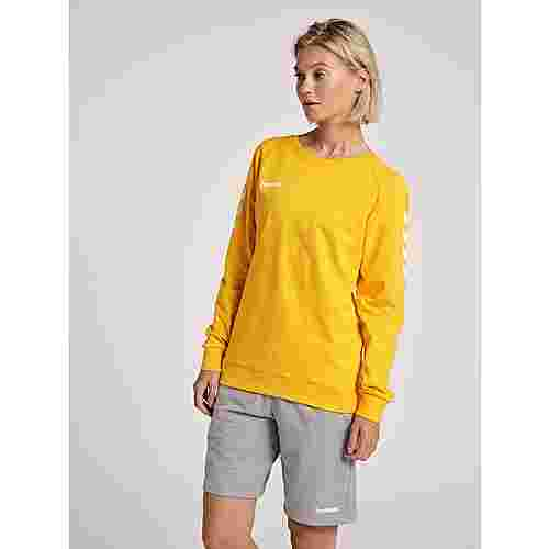 hummel Sweatshirt Damen SPORTS YELLOW