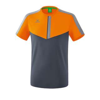 Erima Squad T-Shirt Funktionsshirt orangegrau
