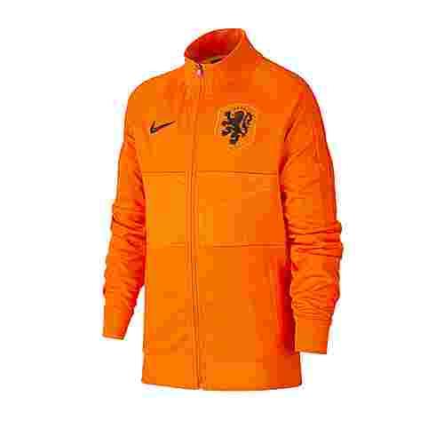 Nike Trainingsjacke Kinder orangeschwarz