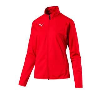 PUMA Trainingsjacke Damen rotweiss