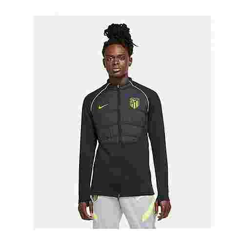 Nike Trainingsjacke schwarzgelb