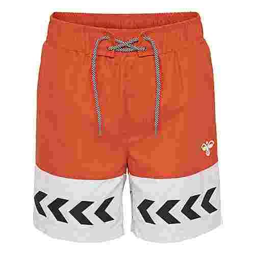 hummel hmlJASON BOARD SHORTS Sweatshorts Kinder MANDARIN RED