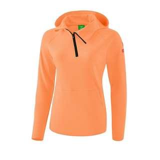 Erima Essential Kapuzensweat Damen Funktionssweatshirt Damen Orange