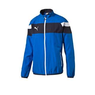 PUMA Trainingsjacke Kinder blauweiss