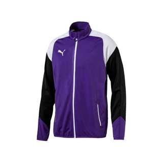 PUMA Trainingsjacke Kinder lilaweiss
