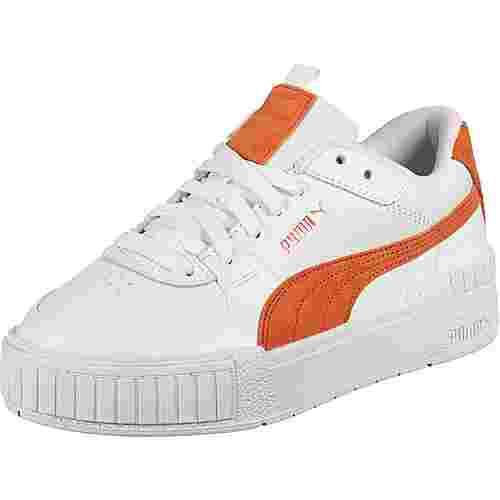 PUMA Cali Sport SD Sneaker Damen weiß/orange