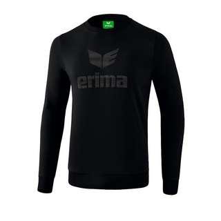 Erima Essential Sweatshirt Funktionssweatshirt Herren SchwarzGrau