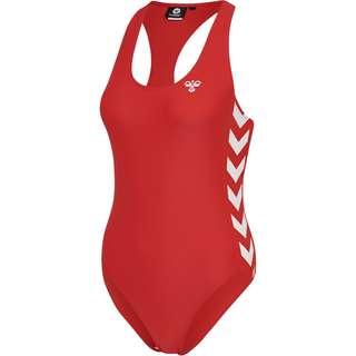 hummel Badeanzug Damen HIGH RISK RED
