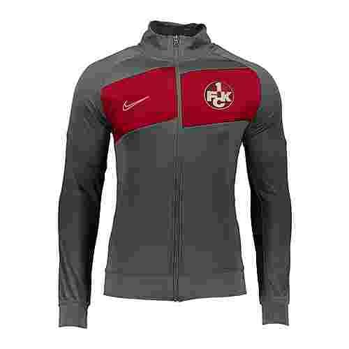 Nike Trainingsjacke Kinder grau