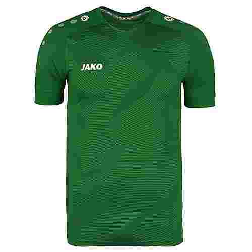 JAKO Premium Fußballtrikot Herren grün / weiß