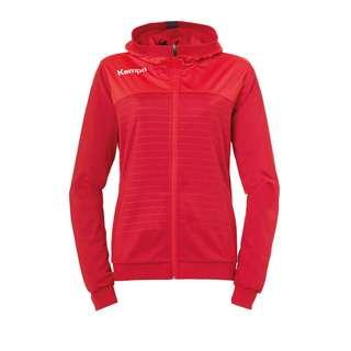 Kempa Emotion 2.0 Kapuzenjacke Damen Trainingsjacke Damen rot