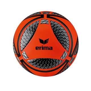 Erima Senzor Match Winterspielball Fußball orangeschwarz