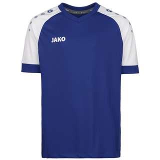 JAKO Champ 2.0 Fußballtrikot Herren blau / weiß