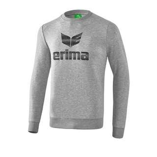 Erima Essential Sweatshirt Funktionssweatshirt Herren GrauSchwarz