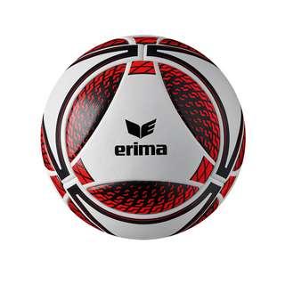 Erima Senzor Match Spielball Fußball weissrot