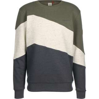 Ragwear Tripsy Sweatshirt Herren grau/oliv/multi
