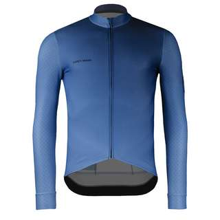 PERCY MASH Cryo Thermal Fahrradtrikot Herren True Blues