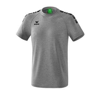 Erima Essential 5-C T-Shirt Funktionsshirt Herren GrauSchwarz