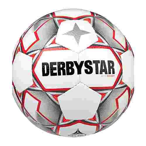 Derbystar Fußball weissgraurot