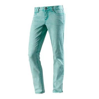 Maui Wowie Skinny Fit Jeans Damen türkis