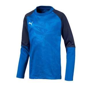 PUMA Funktionssweatshirt Kinder blau