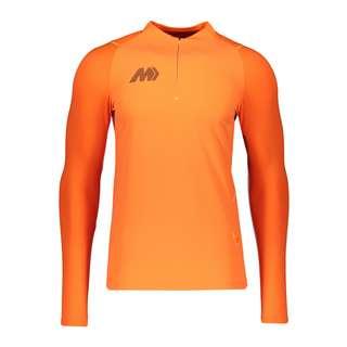 Nike Funktionssweatshirt Herren orangeblau