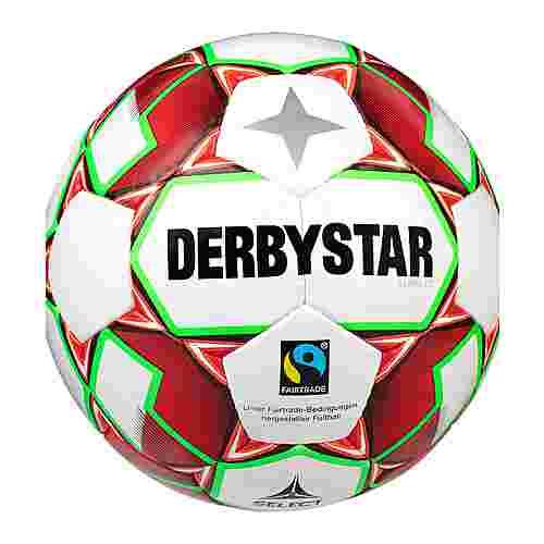 Derbystar Fußball weissrotgruen