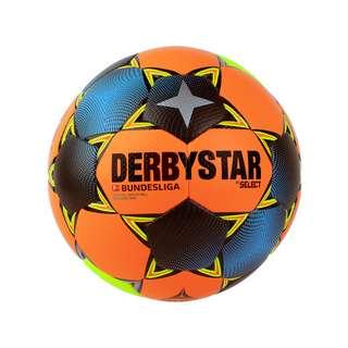 Derbystar Bundesliga Brillant APS Winter Spielball Fußball orangegruengelb