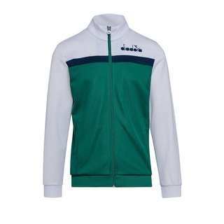Diadora Track Jacket 5Palle  FC7870 Sweatjacke Herren weiss