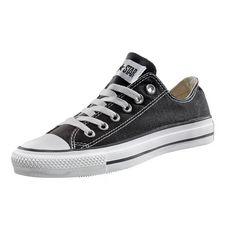 CONVERSE Chuck Low Sneaker Herren schwarz