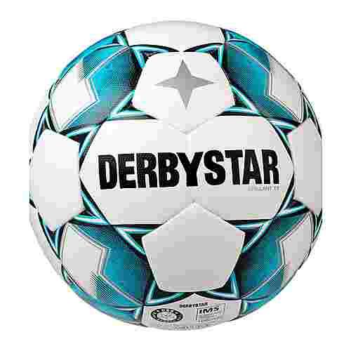 Derbystar Fußball weissblauschwarz