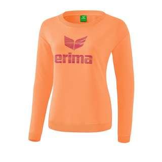 Erima Essential Sweatshirt Damen Funktionssweatshirt Damen Orange