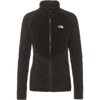 The North Face ARASHI Fleeceshirt Damen tnf black heather/tnf white